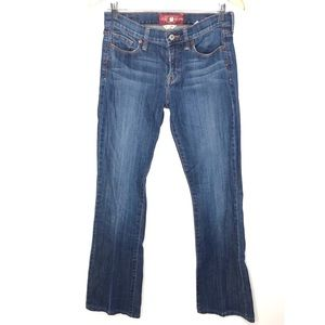 Lucky brand Sofia boot cut jean size 6